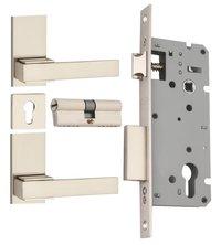 Zinc Mortice Concealed Lock Set