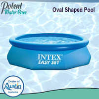 Oval Shaped FRP Swimming Pool