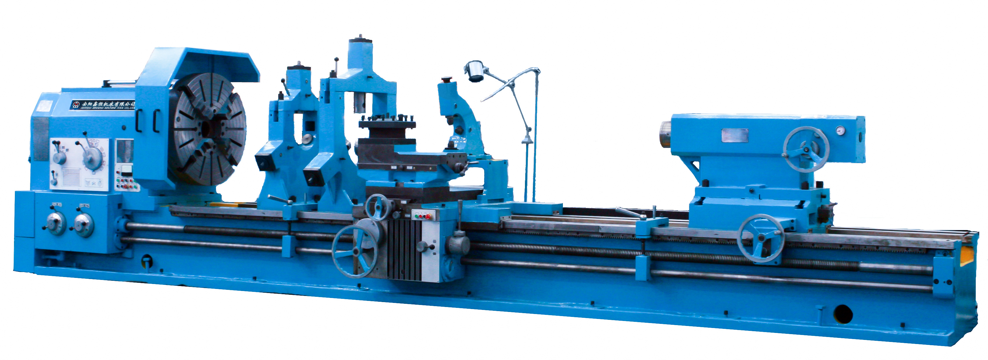 Spindle Bore 130 Heavy Duty Torno Machine with max.weight of workpiece 32t