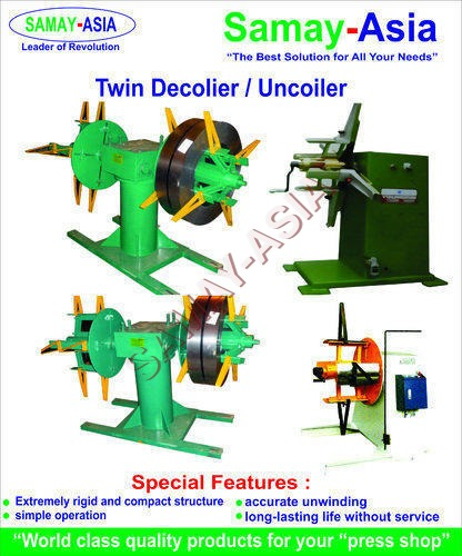 Motorized Decoiler & Uncoiler