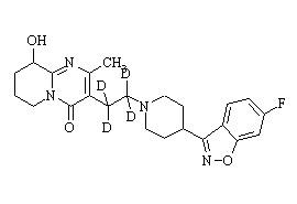 Paliperidone-d4 (9-Hydroxy Risperidone-d4, Risperidone EP Impurity C-d4)