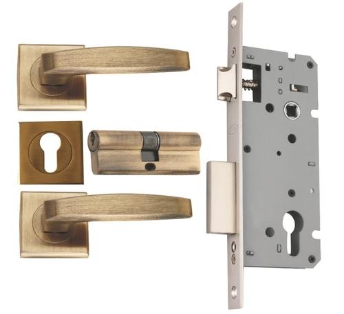 Zinc Mortise  Concealed Lock Set