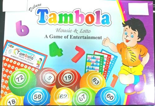 TAMBOLA / BINGO CARDBOARD GAME