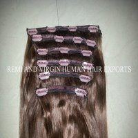 Remy Human Hair Extension Clip In