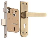 Zinc Mortise Handle Lock Set (EMLS + ZZ37MAB)