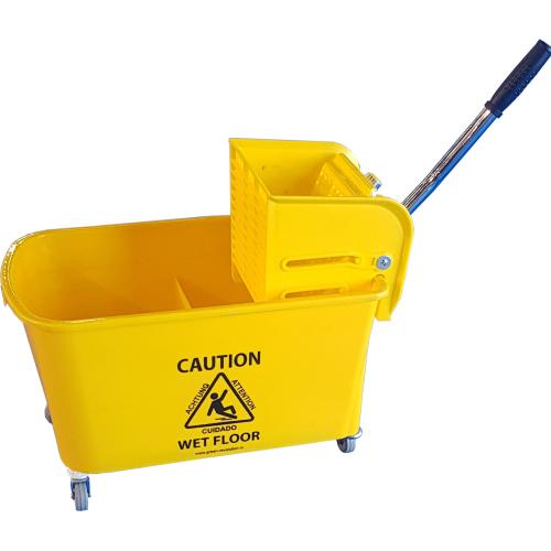 Twin Mop Bucket Trolley