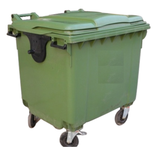 1100 Litres 4 Wheeled Dustbin
