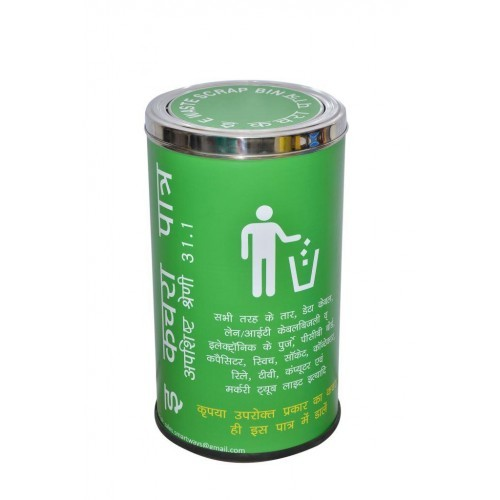 Color Coding Recycle bins