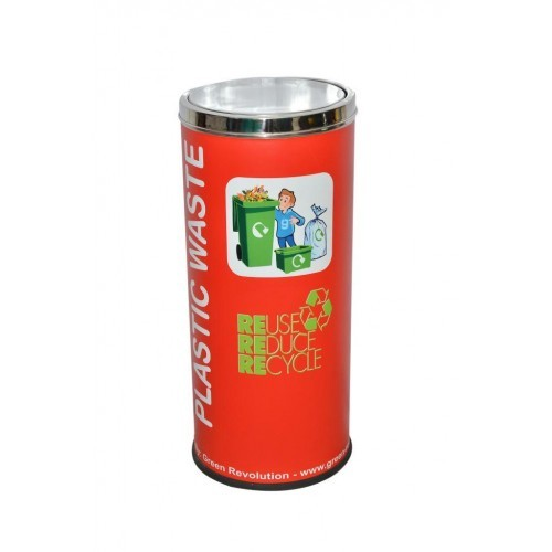 86L Colored Recycle Bin Steel