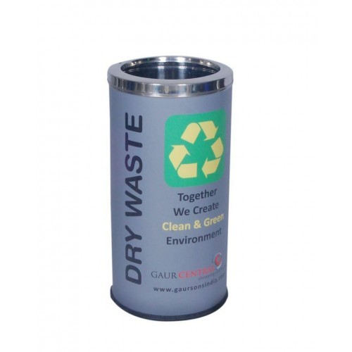 71L Colored Steel Dustbin