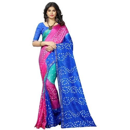 New Fancy Bandhani Print Saree