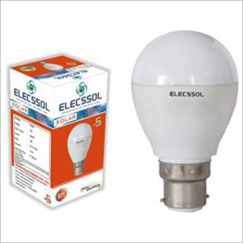 Solar LED Bulb ABS Body