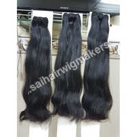 1 x 1 Machine Weft Hair