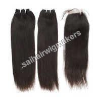 Remy Straight Machine Weft Hair
