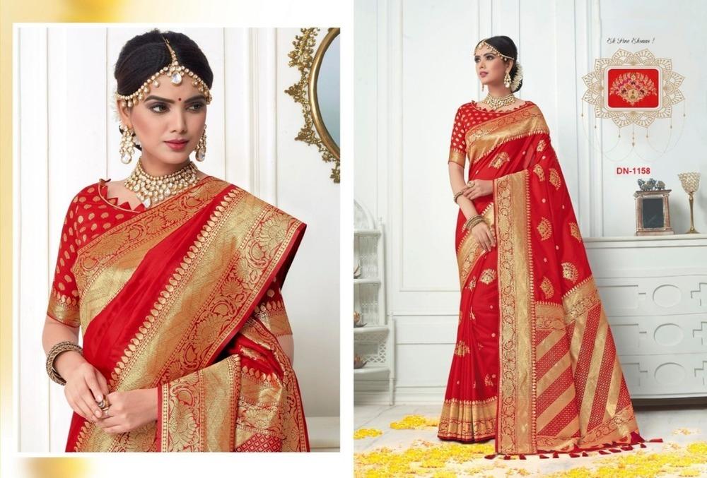 Traditional Banarasi Silk Sarees
