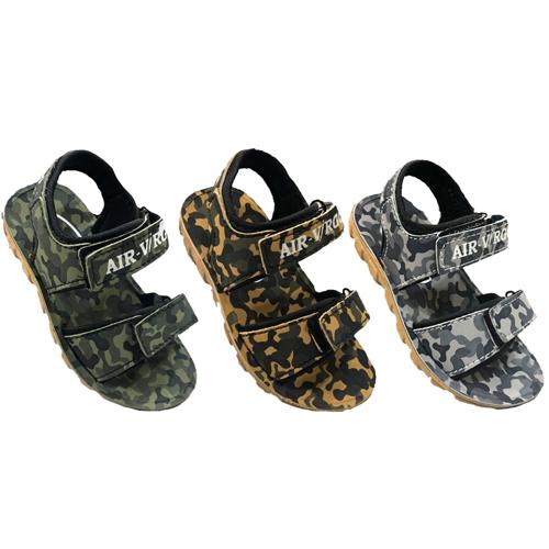 Army Print Kids Sandals