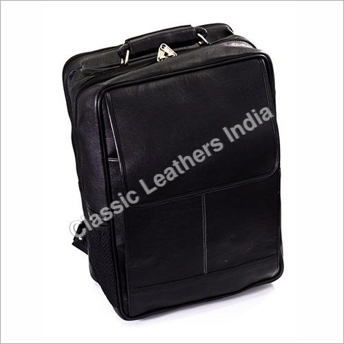 Leatherette Expandable Laptop Bag