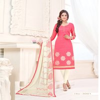 Designer Cotton Jacquard Suit