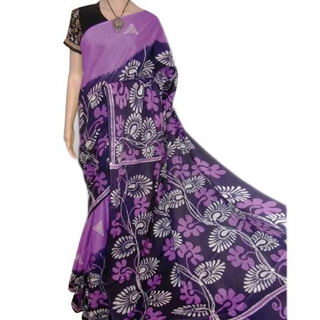 Designer Batik Sarees