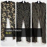 Ladies Cotton Palazzo