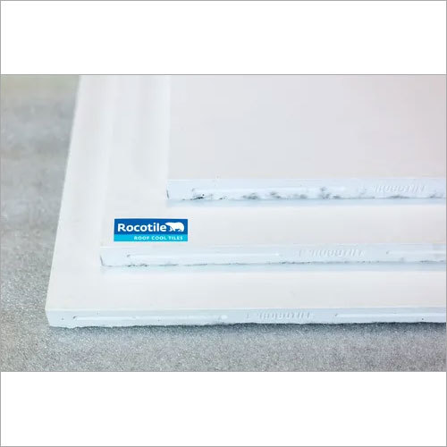 White Terrace Roof Tiles - Rocotile