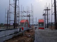 Eastern peripheral expressway toll booth civil work