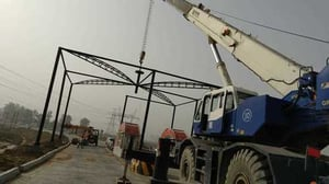 Structure Fabrication And Erection Work
