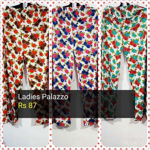 Ladies Printed Palazzo