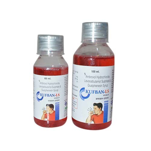 Ambroxol Hydrochloride, Levosalbutamol Sulphate & Guaiphenesin Syrup