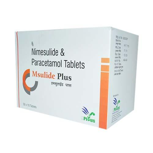 Nimesulide & Paracetamol  15 X 10 Tablet