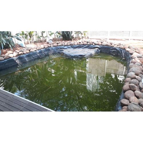 Hand Made Pond Lining