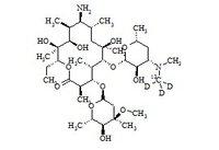 Erythromycylamine-13C-d3
