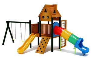 Kids Playhouse With Slide
