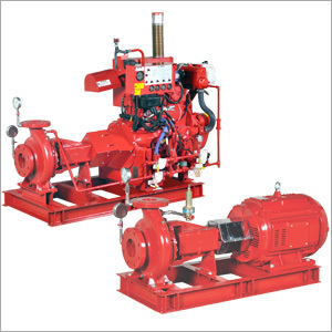 End Suction Fire Pumps UL Listed
