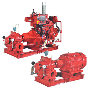 Horizontal Split Case Fire Pumps UL Listed