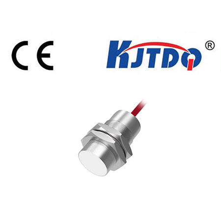 High Temperature Inductive Sensor with Yellow LED Indicator