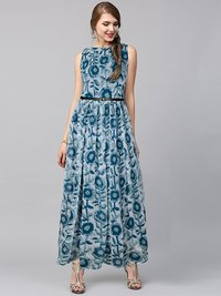 Fancy Printed Gown