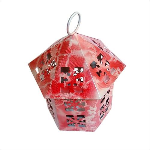 Red Designer Lantern