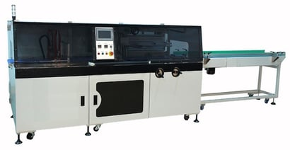 Semi-Automatic High Speed Shrink Wrapping Machine