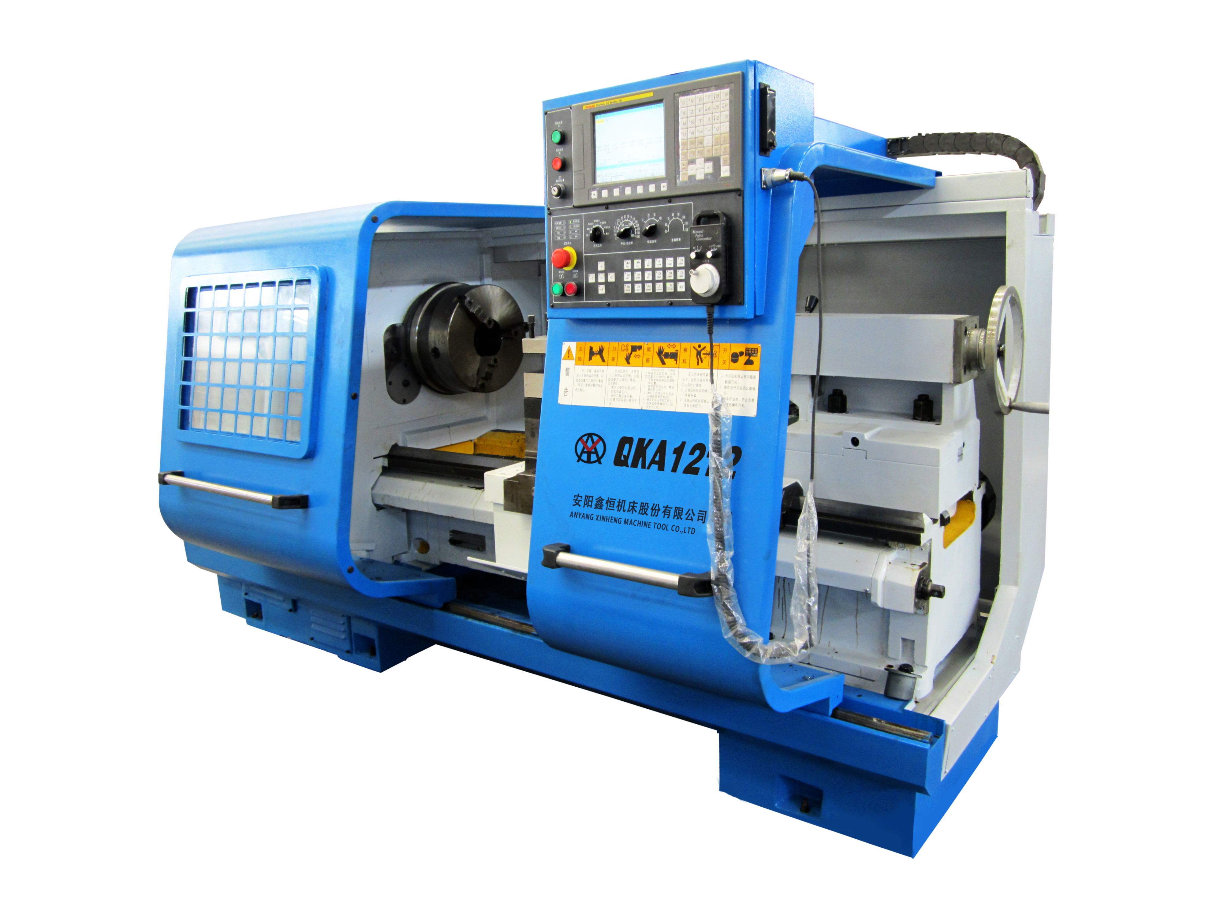 China QK1235 Oil Field Pipe Threading Lathe For Metal Cutting