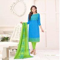 Cotton Jacquard Salwar Kameez