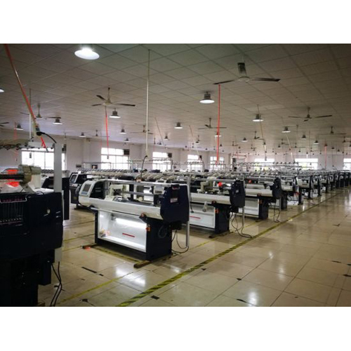 Jacquard Industrial Flat Bed Knitting Machine