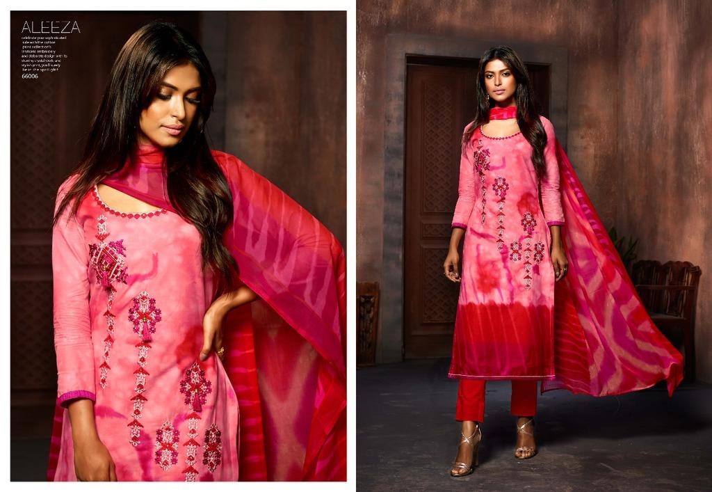 Fancy Cotton Batik Print Suit