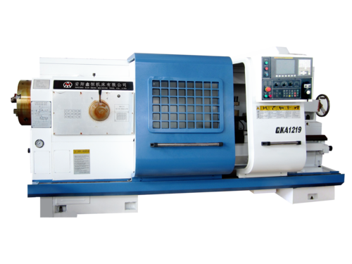 Automatic Pipe Threading Lathes For Metal Cutting QK1219 based on oil country cnc lathe