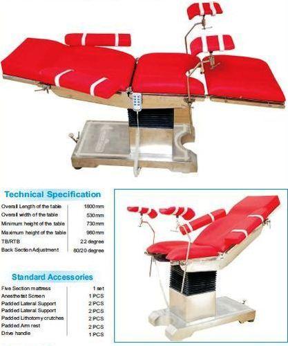 Adjustable Ot Table
