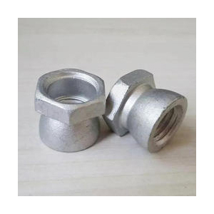 Silver Anti Theft Nut