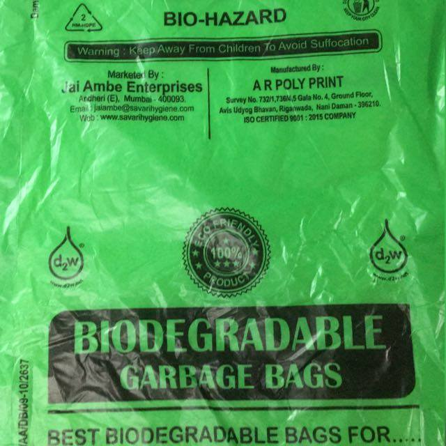Biodegradable Garbage Bags