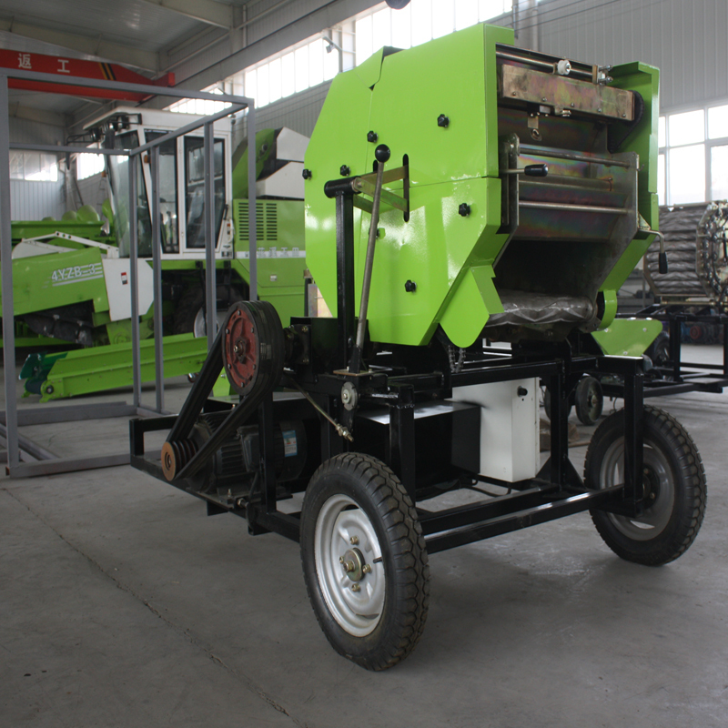 Combined Silage Baler Wrapper