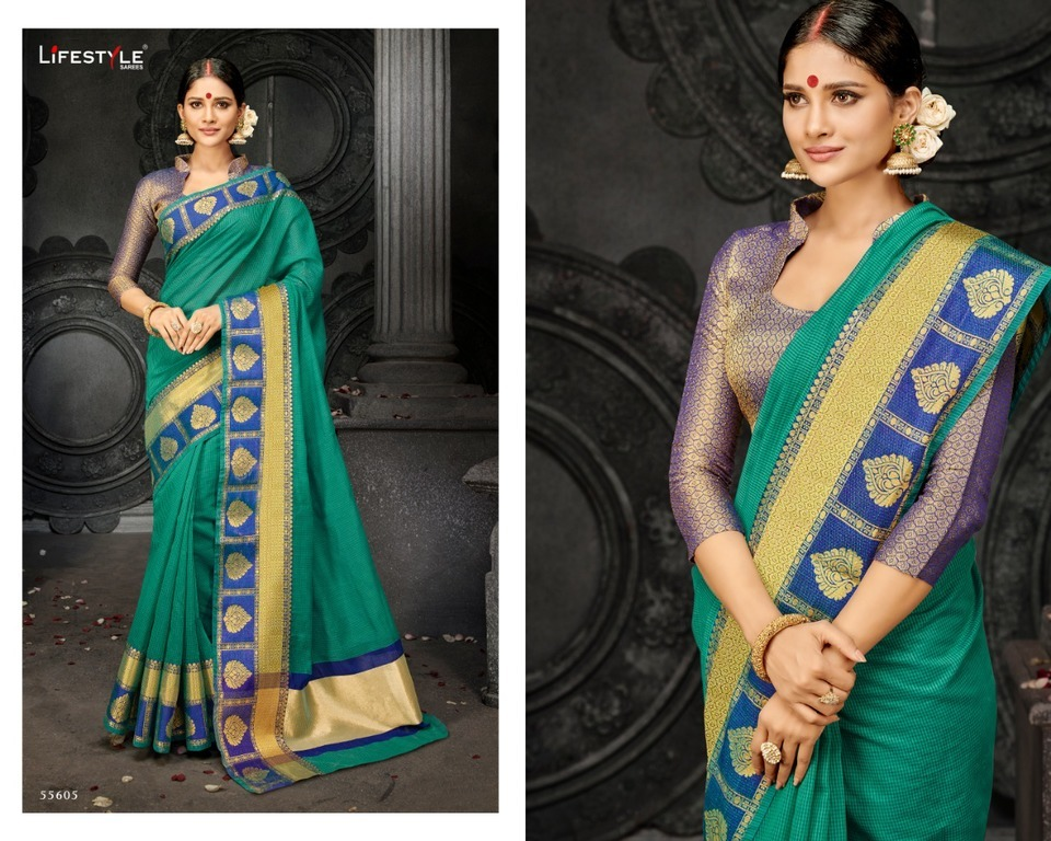 Pure Cotton Silk Sarees Online