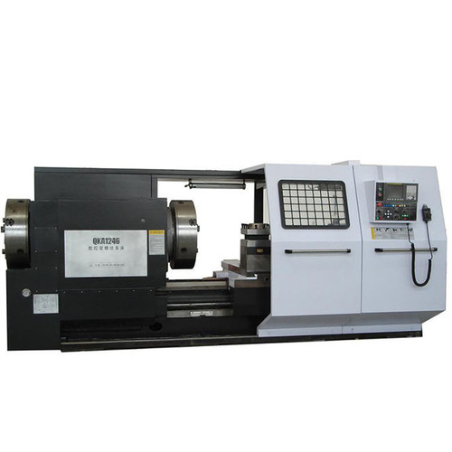 Horizontal Oil Country Lathe Spindle Bore 465mm QK1246 From China